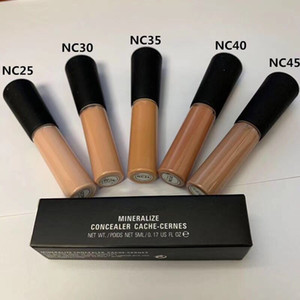 IN stock!!New Makeup HOt Brand Liquid Concealer Mineralize 5ML Concealer Cache-cernes NC colors High quality