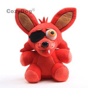 18-32 cm juego Juguetes 30 estilos Cinco noches en Freddy's Pelush Stuffed Doll Fnaf Freddy Foxy Chica Peluche Juguetes para niños Y1117