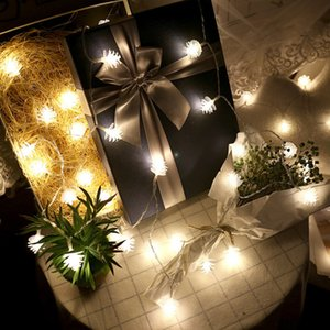 The latest 10 m100 lights LED pine cone shaped string lights lantern string home Christmas decoration lights