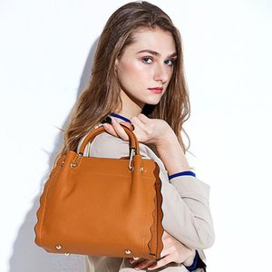 Lucky2019 Woman Tide Will Capacity Cowhide Support Special Package Handbag Single Shoulder