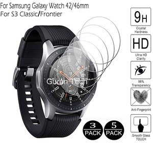 Galaxy Watch 46mm 42mm 3 41 45mm Tempered For Samsung Gear S3 Classic Frontier Screen Protector Protective Glass Films
