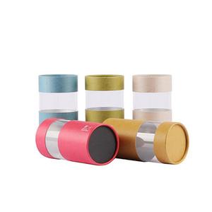 Packaging Xin Jia Yi produisent un tube de papier en carton de qualité imprimé personnalisé