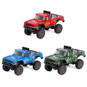Injora 2.4g 1:18 Maßstab RTR RC Rock Crawler Auto Aff Road Klettern RC Fahrzeug LKW Fernbedienung Pickup RC Auto Spielzeug 201218
