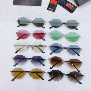 Fashion sport sunglasses for men 2020 unisex glasses men women sun glasses silver gold metal frame UV400 Eyewear lunettes with box r8Wo#