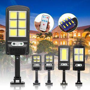 50/100 / 200 / 300W Solar COB Sensor Wandleuchte Infrarot Bewegung Sensor LED Street Light Outdoor Beleuchtung Gartenlampe LED-Licht