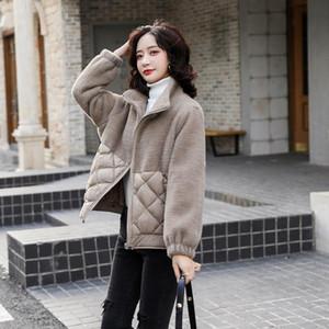 AECU Winter Womens Warm Parkas Flannel Plus Size Coats Female Outerwear Hooded Jacket Warm Cotton Women Winter Jackets