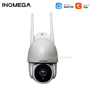 TUYA CAMERA Smart 1 Inch Cloud 1080P PTZ Dome Wifi Camera Outdoor 2MP Auto-Tracking Wireless Home Surveillance IP Cam