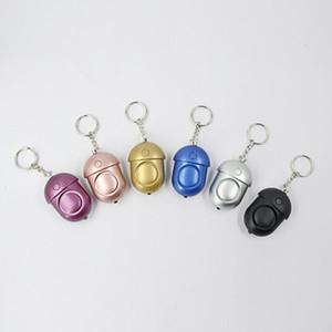 Personal Alarm 130dB Keychain Safe Sound Alarm with Steady LED White Light,Emergency Safe Alarm systems keychain