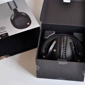 Monitor Bluetooth Faltbare Kopfhörer mit Mic Leather Rauschen Abbrechen Deep Bass Stereo Ohrhörer Monitor DJ Hi-Fi Kopfhörer Phon