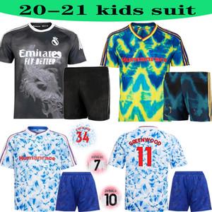 Adult suit KIDS 20 21 manchester cavani united UTD WILLIAMS HUMANRACE REAL MADRID soccer jerseys special 2020 KIDS SHIRTS football shirt