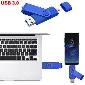 사용자 정의 로고 USB 플래시 드라이브 3.0 OTG 펜 드라이브 32GB Pendrive USB 스틱 128GB