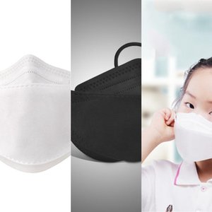 and protection for breathable children or adult KF94 dustproof Mask willow-shaped individual package wholesale fast Y1
