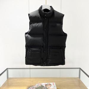 Mens Designer Clothings Autumn Winter Sleeveless Hoodie Jacket Men Vest Cotton-padded Warm Fleece Lined Mens Coat Cardigans Weste S-XXL