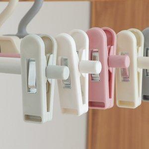 Plástico Ajustável Pantspin Calças Calças Rack Pitador Ajustável Ajuste Aperto de Secagem Saia Plástica Peg Hanger Space Scaving CCA3141