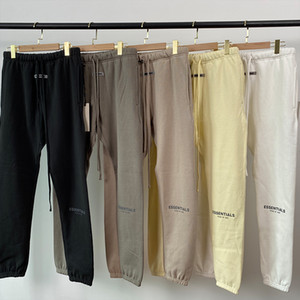 2021 new Sweatpants 100% 1:1 fog essentials kanye west jerry lorenzo loose ovesized trousers hip hop cotton hoodie pants
