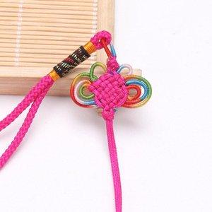 10 pcs Knots Chineses Borlas Tecelagem Hang Rope Jóias Acessórios DIY Artesanato Decoração Pingentes Materiais Cor Borboleta Linha H Jllumm