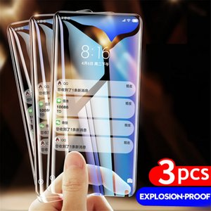 3PCS HD Clear Tempered Glass For Samsung Galaxy A21S A71 A51 A31 A41 A30 A40 A50 A70 M51 S20 FE Screen Protector Film