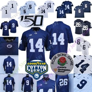2020 PSU Penn State Football Jersey NCAA 콜렉스 숀 Clifford Saquon Barkley Noai Cain Pat Freiermuth Mcsorley Jahan Dotson Ford Shaka Toney
