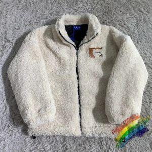 Lamb Wool FLEECE Zip Hoodie Men Women 1 Top-Quality Embroidery Fashion Casual Sweatshirts