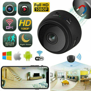 A9 Mini Camera 4K Full HD 1080P APP Control 150 Degree Viewing Angle Mobile Video Wireless WiFi Network Monitor Security Night Version Cam