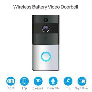 WiFi Video Doorbell Smart Home Alarm Mobile Phone Remote Intercom AS991