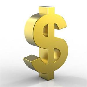 Dinero de pago para el costo adicional de la caja o el envío de DHL, solo 1 pieza = $ 1 carteras 746-11
