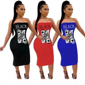 Women designer midi spring dresses plus size striped chest wrap letter print skirts elegant skirts S-4XL fashion casual clothes DHL 3487