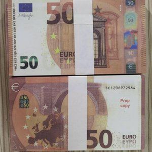 Euros Collection Money Prop Euro Paper Business Money Fake Bills Fake Banknote Paper 10 For Money Eqopu