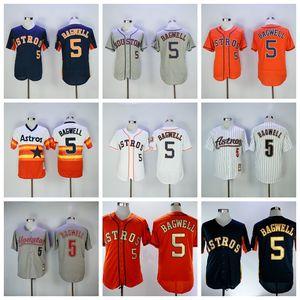 Retire 1980 BP Baseball 5 Jeff Bagwell Jersey Flexbase 2016 Cool Base Cool 2006 pullstripe Pullover Vintage broderie rétro