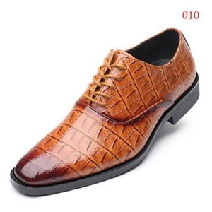 Scarpe in pelle da uomo Quattro stagioni Explosions Suit Shoes Shoes Shoes Business Dress Shoes GIOVERO PELLE SCARPA UOMO 5