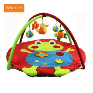 Educational Toys Baby Game Gym Infant Blanket 3D Activity Play Mat Frog Cartoon Q1121