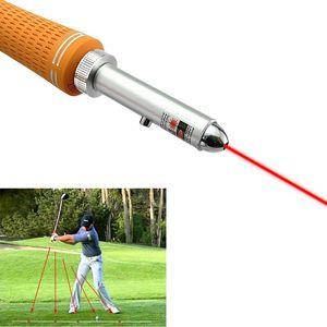 Golf Swing Corrector Laser Plane Trainer Golf Swing-Plane Training Aid Golf Pointer Laser Spot Direction 201124