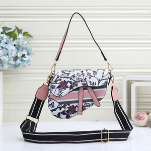 2020 ultima borsa da sella donna di moda Twill Jacquard Canvas Fashion Designer Borsa a tracolla Borsa a mano Borsa da partita