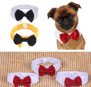Gentleman Dog Bow Ties Pet Adjustable Cat Neckties Butterfly Tie Necktie Collar Decor Acce bbyZoJ garden2010