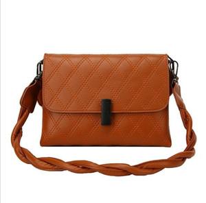 2021 Fashion New Arrive Women Pu Leather Shoulder Bags Girls Brief Flap Women Casual Messenger Crossbody Handbag