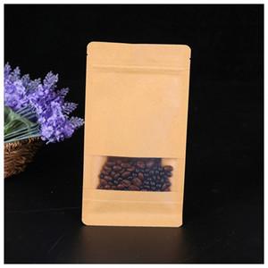 Coffee beans Bread biscuit packaging spot octagonal packing bag tea snacks kraft paper custom food grade material package bags 156 K2