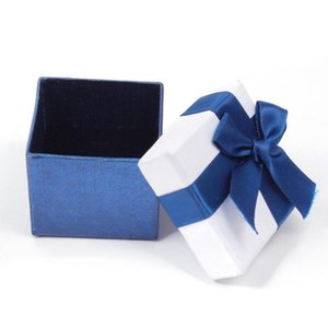 Jewelry Gift Boxes Bracelets Earring Ring Necklace Jewelry Set Box Square Round Packaging Cases Display Cardboard Mixed