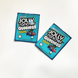 New Jolly Rancher Gammies Bag 600 мг кислое узорные лекарственные сведения Ziplock Пакет Mylar Bags Jolly Rancher