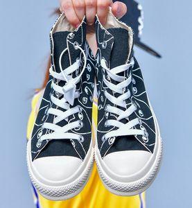 Fashion All Star 1970s Dìór Oblique DSM Chuck Fashion Taylor Basket CDG High Top Low Designer Luxury Canvas Men Shoes Slipper Sneakers 36-45