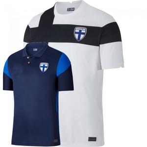 2020 2021 Finlandia Soccer Jerseys National Team Home Away Uronis Pukki Jensen Karjalainen Pohjanpalo 20 21 Camicia da calcio