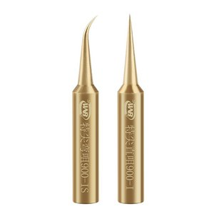 Hand & Power Tool Accessories 900M-T-I IS Oxygen-free Copper Soldering Iron Tip Welding Sting For 936 937 Constant-temperature Rework Statio