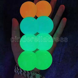 Glow in The Dark Sticky Ceiling Balls Stress Balls for Adults and Kids Glow Sticks Balls Squishy Toys for Kids Birthday Party Favors