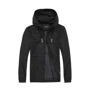 NEW Designer Mens Jacket Coat Autumn Windrunner Designer Sports Windbreaker Thin Casual Jacket Men women Clothing coats stone Top