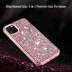 2020 Bling Diamond Phone Case para iPhone 12 Pro Max XR New Glitter Diamond Diamond Case para iPhone 11