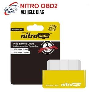 PCB PCB ECOOBD2 Nitro OBD2 Bouchon d'essence pour Benzine ECO OBD2 ECU Boîte de syntonisation 15% Économie de carburant Plus de Power1