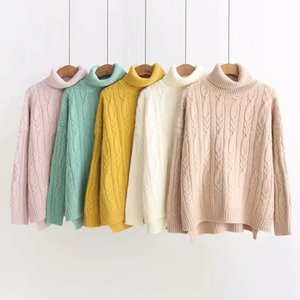 hot sale long knit cashmere cardigan girls women's sweaters