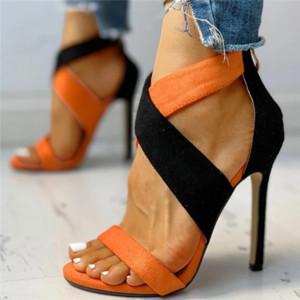 2021 Women pumps lace up wedding Shoes Sandals Summer Low Heel Shoes PU Gladiator Luxury Shoes Women Designers Zapatos De Mujer
