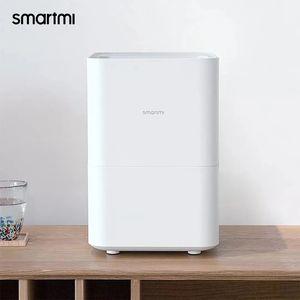 Humidificateur Evaporatif SmartMI 2 Pas de smog pour amortisseur à domicile Air Diffuseur Aroma Diffuseur Essential Huile Make Maker Xiaomi Mijia App Control