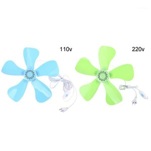 AC 110V 220V 5 Leaves 12.5inch Silent Household Dormitory Bed Hanging Fan Switch Ceiling Fan Energy Saving Cooling1