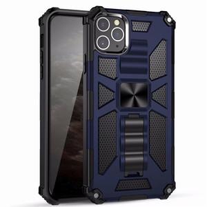 Étui de téléphone Heavy Duty Armour pour iPhone 12 Mini 11 Pro Max XS XR X Cas de protection antichoc pour iPhone SE 7 8 Plus 6S 6